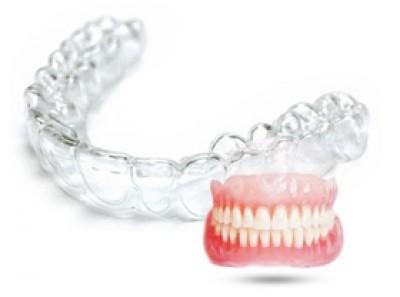 Изготовление каппы с коррекцией положения зубов
