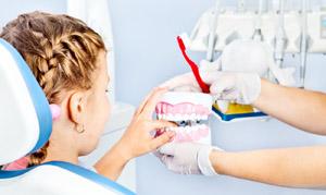 Обучение гигиене полости рта